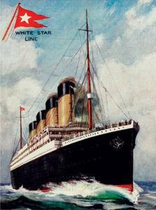 Titanic - Portrait by Anonymous