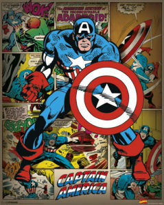 Captain America - Retro by Marvel Comics