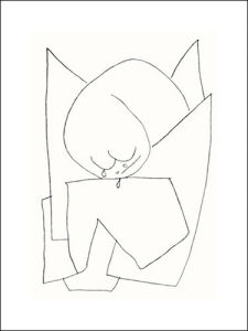 Es weint, 1939 by Paul Klee