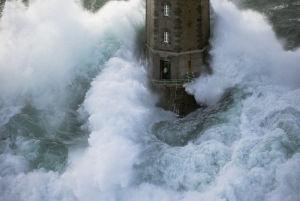 Phare de La Jument - The Lighthouse Keeper IV by Jean Guichard