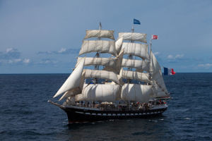 Tall Ship Belem II by Jean Guichard