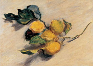 Lemon Tree Branch by Claude Monet