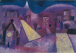 Winterlandschaft by Paul Klee