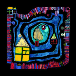 End of Waters by Friedensreich Hundertwasser