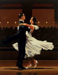 Take this Waltz by Jack Vettriano