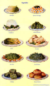 Vegetables by Mrs Beeton