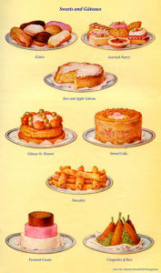 Sweets and Gateaux by Mrs Beeton