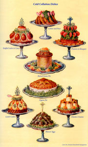 Cold Collation Dishes by Mrs Beeton