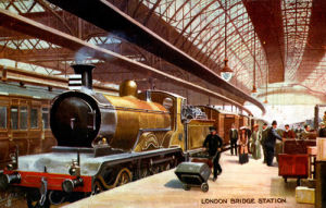 London Bridge Station, c.1900 by Gilette