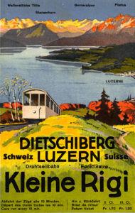 Kleine Rigi Luzern, 1914 by Otto Landolt