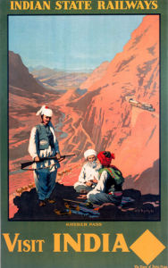 Indian State Railways - Khyber Pass by National Railway Museum