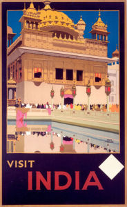 Visit India - Golden Temple by National Railway Museum