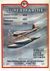 Supermarine - Schneider Trophy Winner by National Railway Museum