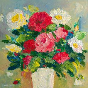 Rose Bouquet by Parastoo Gangei