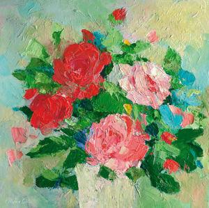 Summer Rose II by Parastoo Gangei