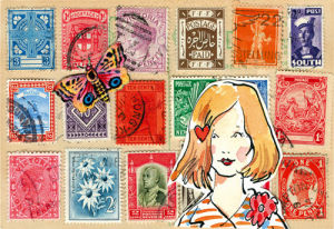 Carte Postal VI by Claire Fletcher