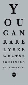Eye Chart II by The Vintage Collection