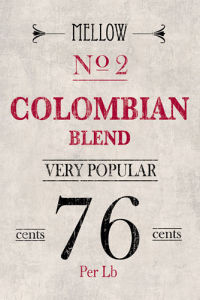 Colombian Coffee by The Vintage Collection