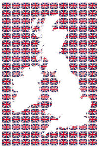 Union Flags I by The Vintage Collection