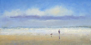 Beachside Stroll by Michael J Sanders