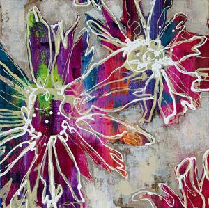 Floral Kick II by Marilyn Bridges
