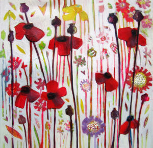 June Poppy by Shyama Ruffell