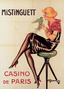 Mistinguett - Casino de Paris, 1922 by Claude Gesmar