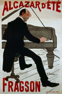 Alcazar d'Ete - Fragson, 1900 by Adrian Barrere
