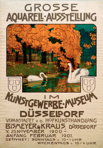 Dusseldorf Watercolour Exhibition, 1900 by Anonymous