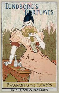 Lundborg's Perfumes, 1894 by Louis Rhead