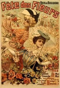 Fete des Fleurs, Paris 1903 by Louis Galice