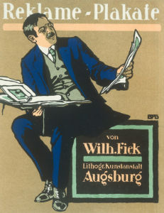 Fiek Printers, Augsburg 1912 by Anonymous