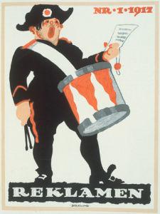 Reklamen, 1917 by Bogelund-Jensen