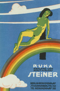 RUKA Advertising Studio, Berlin 1919 by Anonymous