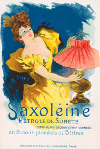 Saxoleine Parafin, 1894 by Jules Cheret
