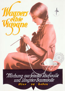 Wagners Wools, 1925 by Offler
