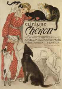 Clinique Cheron, 1905 by Theophile-Alexandre Steinlen