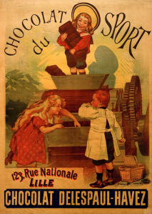 Chocolat du Sport, 1892 by Anonymous