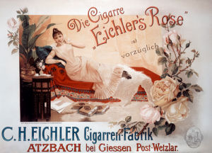 Eichler's Rose Cigars, 1890 by Anonymous