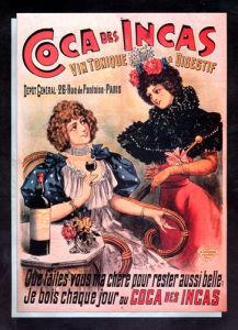 Coca des Incas Tonic Wine, 1890 by Anonymous