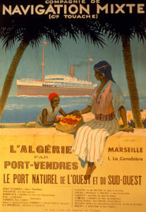 Algeria via Port-Vendres, 1920 by Sandy Hook