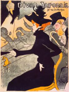 Divan Japonais, 1892 by Henri de Toulouse-Lautrec