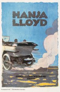 Hansa Lloyd Automobiles, 1914 by Anonymous