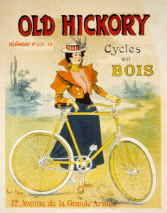 Old Hickory Cycles, 1900 by Rene Peon