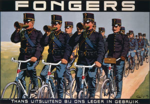 Fongers Cycles, 1915 by F G Schlette