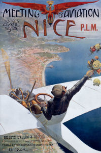 Aviation Meeting, Nice 1910 by Anonymous