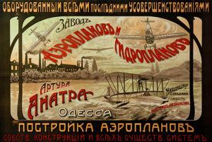 Arthur Anatra Aircraft, Odessa 1910 by Anonymous
