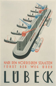 Lubeck, 1925 by Alfred Mahlau