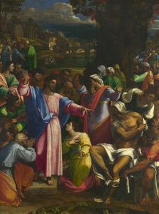 The Raising of Lazarus by Sebastiano del Piombo