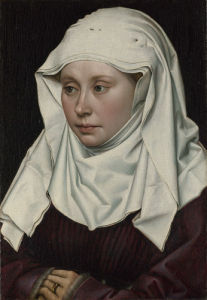 A Woman by Robert Campin